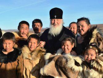 Святейший посетил оленеводческую бригаду в районе села Канчалан