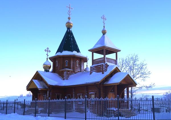 Храм святителя Николая Чудотворца, с.Марково