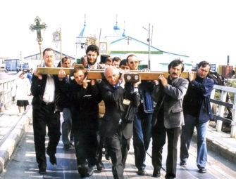 Поклонный крест, г. Анадырь