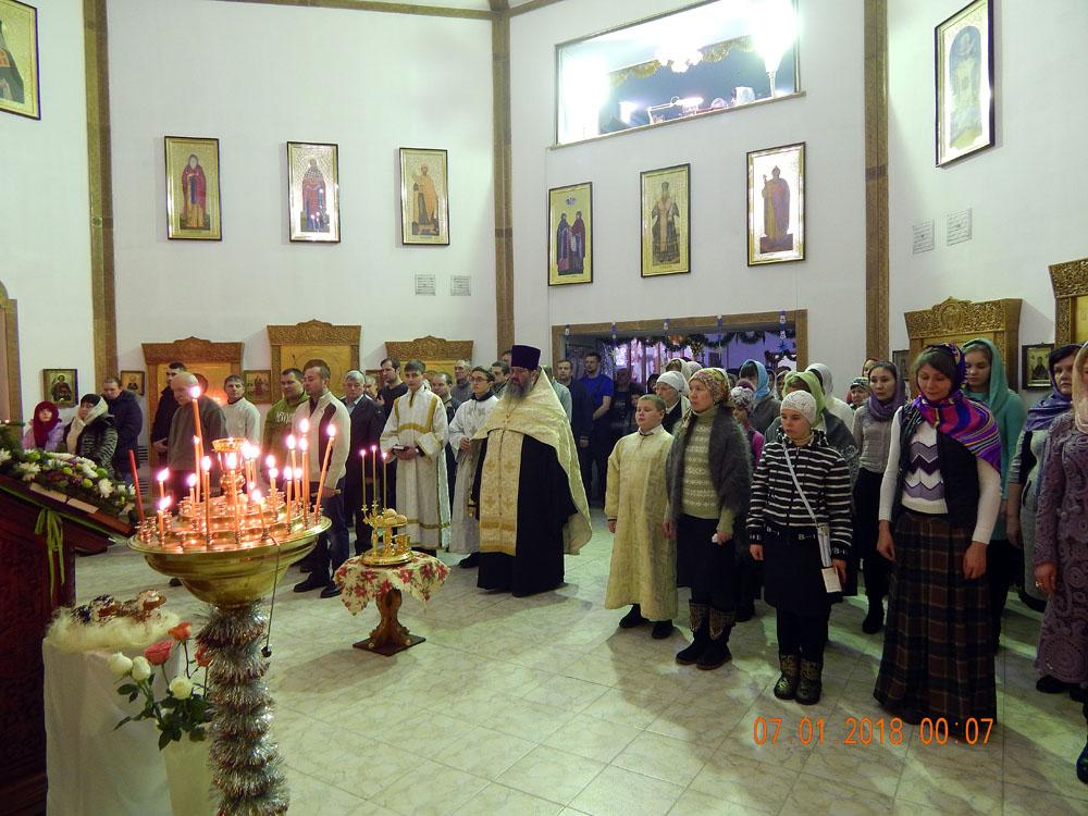 Храм преп. Серафима Саровского г. Билибино