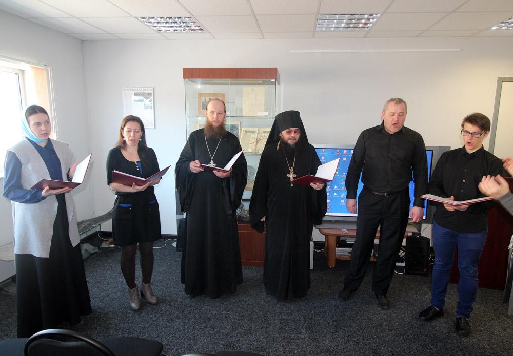 Выступление сводного хора Анадырской епархии в Музейном центре «Наследие Чукотки»