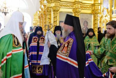 Хиротония владыки Ипатия на Соловках (foto.patriarchia.ru) - 26