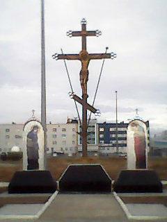 Поклонный крест пос. Угольные Копи