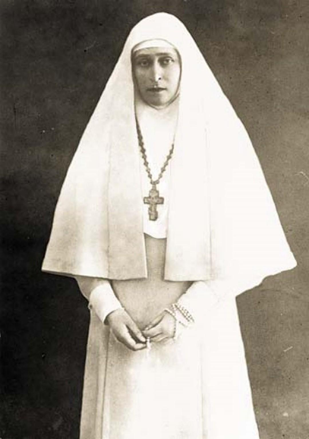 Елизавета Фёдоровна в одежде сестры Марфо-Мариинской обители