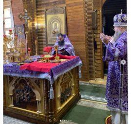 29 марта - Литургия в соборе на Иоанна Лествичника